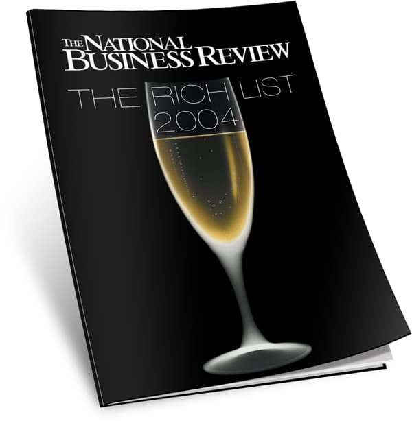 NBR rich List cover archive 2004