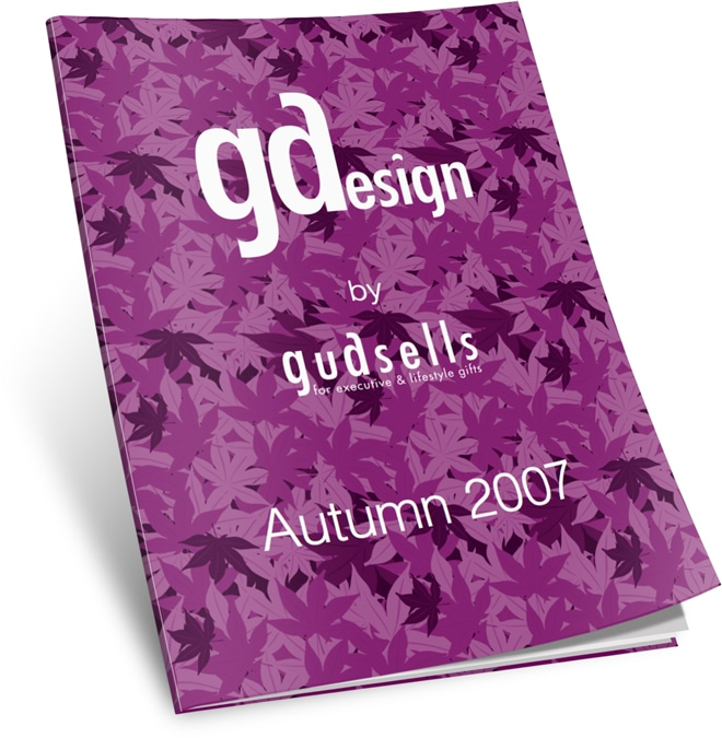 Product catalogue front cover layout