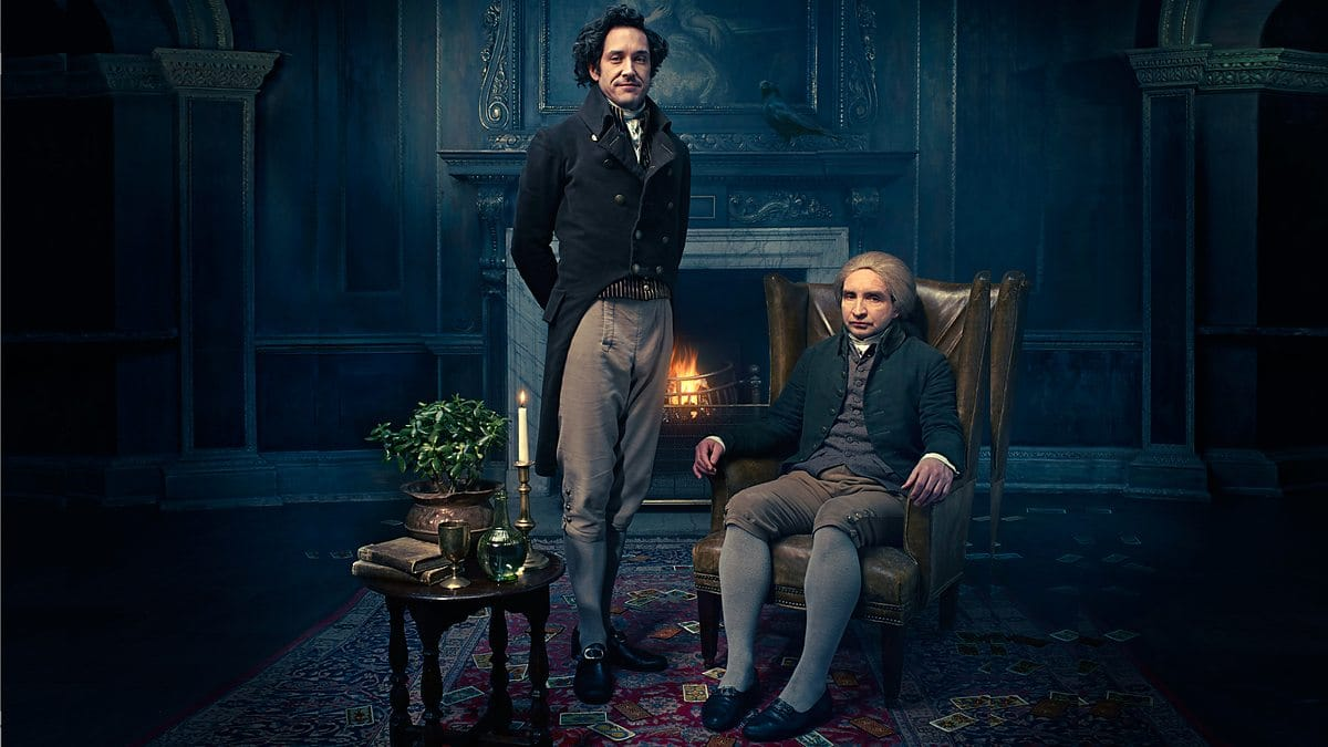 Jonathan strange and mr norrell in lounge