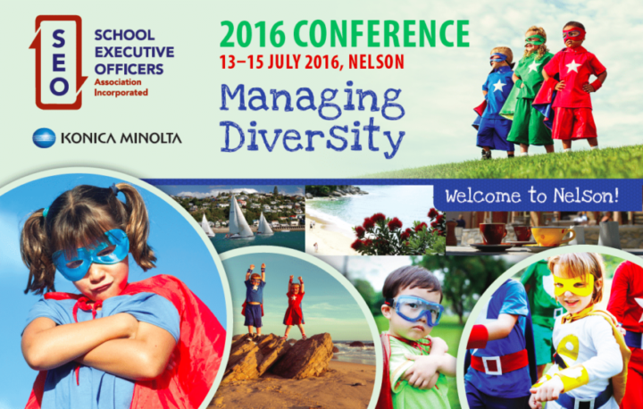 School Executive Officers conference branding