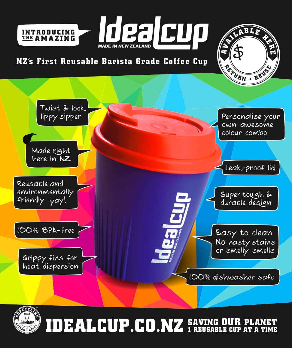 IdealCup point of sale design