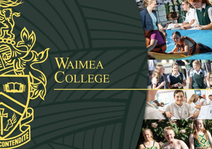 Waimea college graphic design