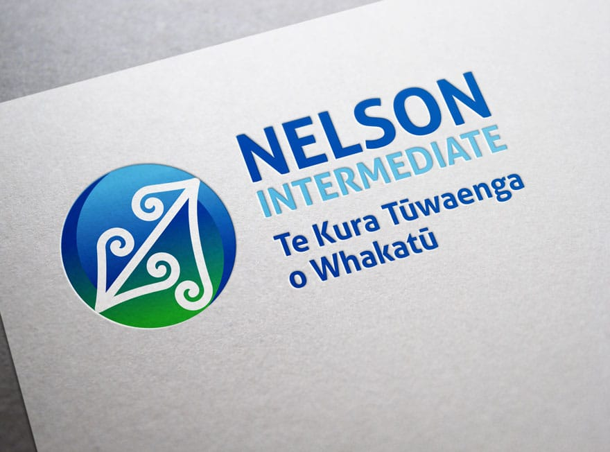 nz school logo design