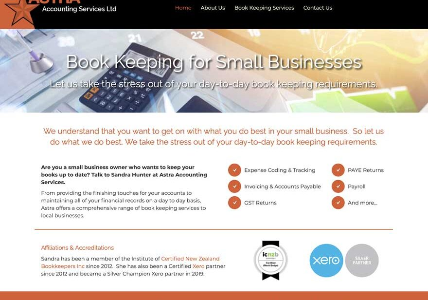 web design for accountant
