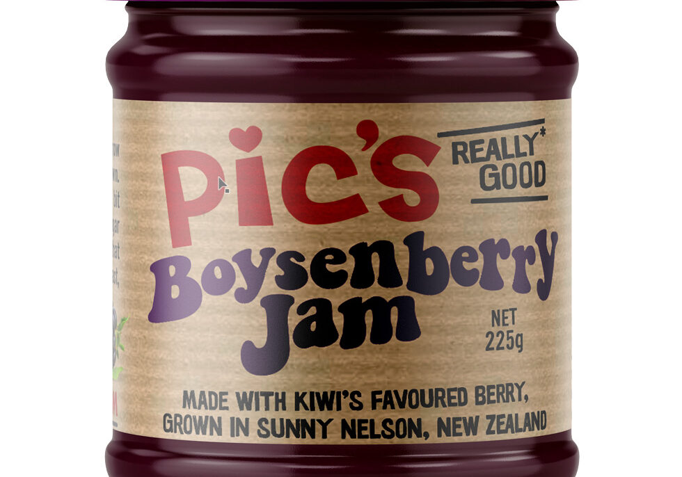 Pics boysenberry jam label design