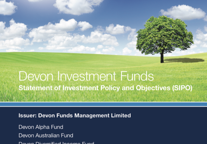 Devon Funds branding