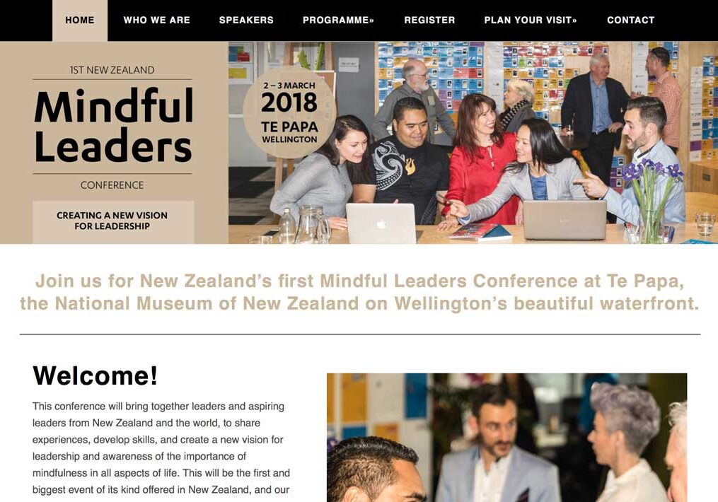 Mindful Leaders wordpress web design
