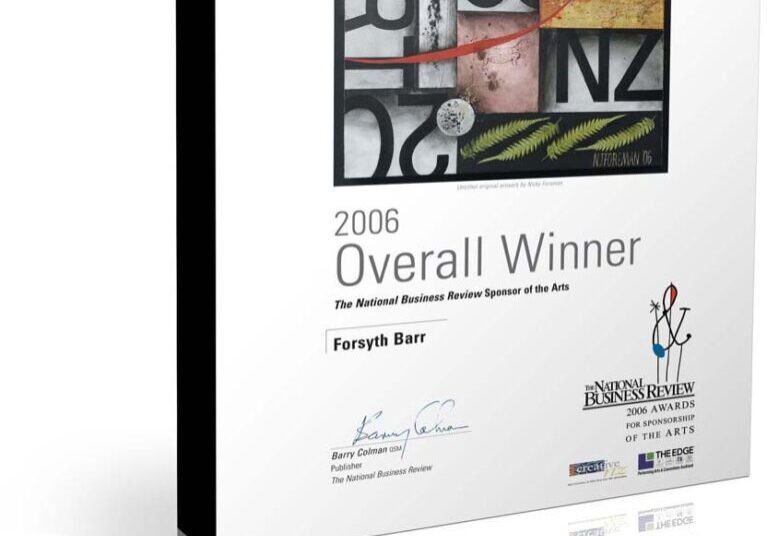 NBR art awards certificate design
