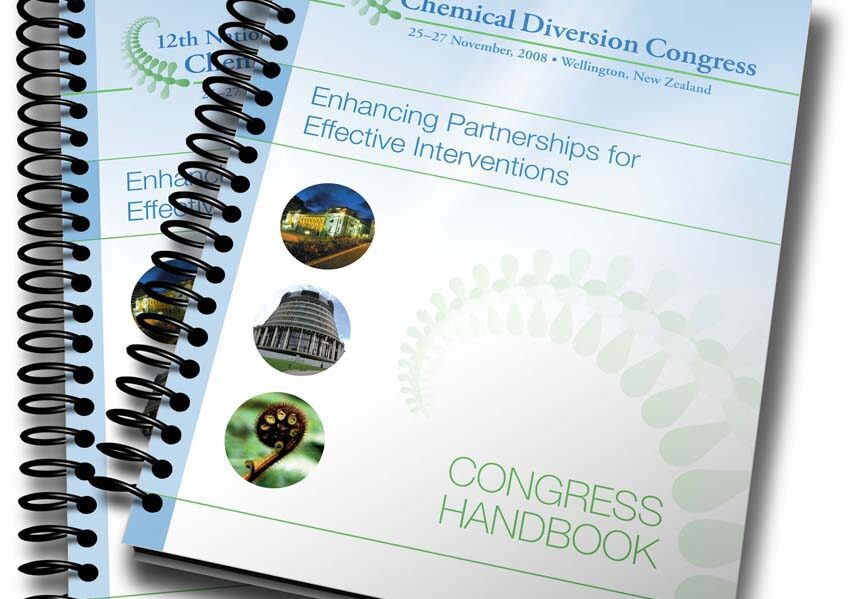 Chemical Diversion Congress programme branding