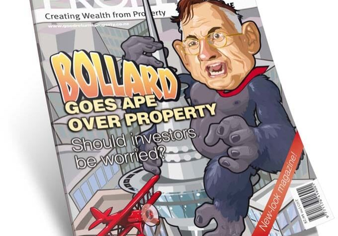 NZ property investor Magazine bollard cover