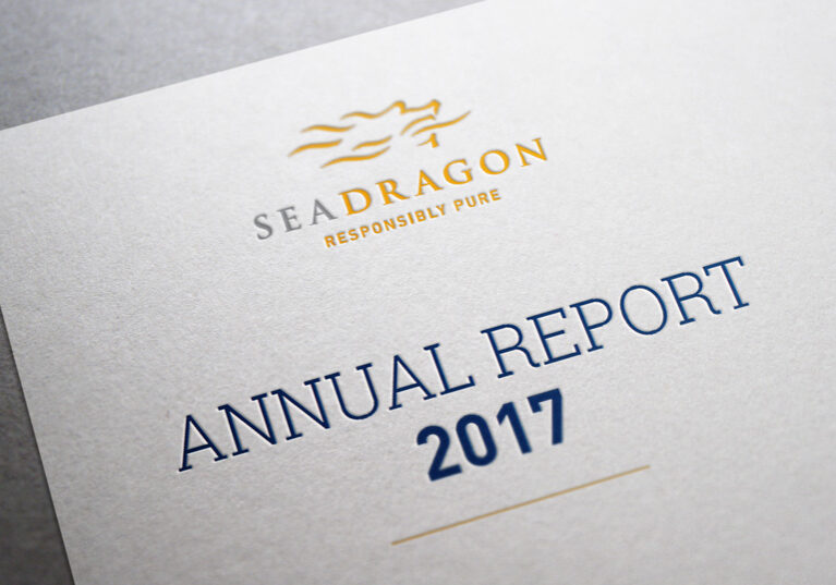 SeaDragon 2017 annual report design