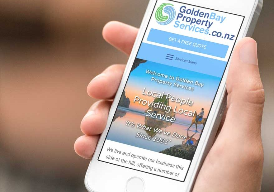 golden bay website design