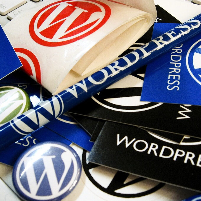 Wordpress logo branding